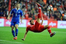 2020 UEFA Avrupa Futbol Şampiyonası: Türkiye: 2 – Moldova: 0 (İlk yarı)