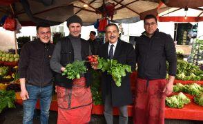 Başkan Ataç esnaf ziyaretlerine devam ediyor