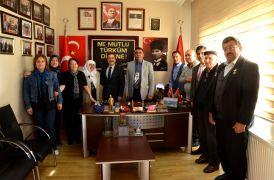 Başkan Ataç şehit aileleri ve gazilerle buluştu