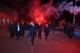 Başkan Bozkurt'a mahalle ziyaretlerinde yoğun ilgi