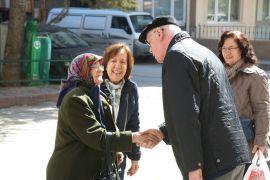 Başkan Kazım Kurt esnaf ziyaretlerine devam ediyor