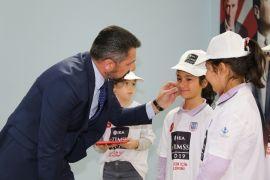 Başkan Yüzügüllü, öğrencilerle bir araya geldi