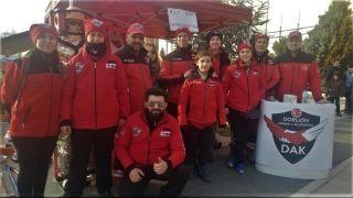 DAK ekibinden Deprem Haftası bilgilendirme standı