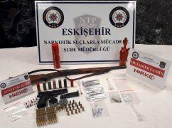 Eskişehir merkezli uyuşturucu operasyonu: 44 gözaltı