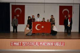 İnönü'de İstiklal Marşı'nın Kabulü ve Mehmet Akif Ersoy´u Anma töreni