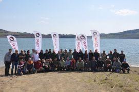 """Olta balıkçıları """"Balık Avı Sezonu Kapanış"""" etkinliğinde buluştu"""