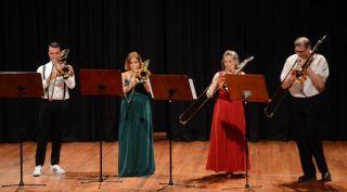"""Salon 2003'te """"Türk Trambon Topluluğu Oda Müziği Konseri"""""""