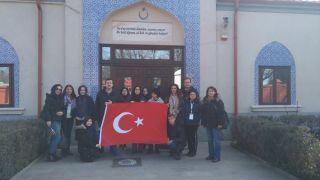 Sarar Kız Anadolu İmam Hatip Lisesi ekibi Romanya'da