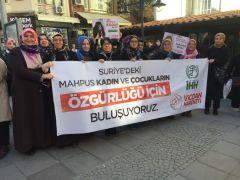 Suriye'deki hapis kadınlar için 'Vicdan Hareketi'