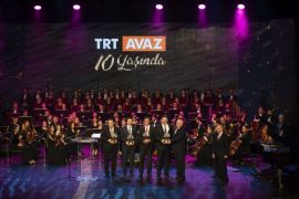 TRT Avaz 10. yılını Nevruz özel yayınıyla Anadolu Üniversitesi'nde kutladı