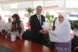AK Gönül Dostu Kadınlar Grubu'ndan Başkan Çam'a ziyaret