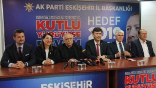 AK Parti Eskişehir adaylarından seçim sonrası açıklama