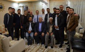 Başkan Ataç Sütlüce'de ev ziyaretinde