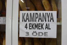 Bu markette ekmeği 75 kuruşa almak mümkün