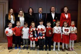 Çocuklardan Başkan Ataç'a 23 Nisan ziyareti