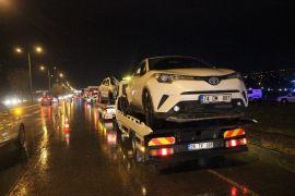 Eskişehir'de 8 aracın karıştığı zincirleme kaza: 1 polis memuru ağır yaralı