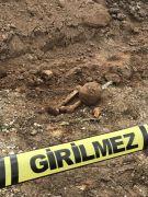 Eskişehir'de buluntu insan kemikleri