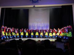 Halk Dansları Topluluğu büyük beğeni topladı