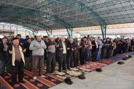 İnönü'de yağmur ve şükür duası