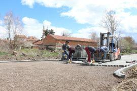 İnönü Belediyesi sokak iyileştirme çalışmalarına devam ediyor
