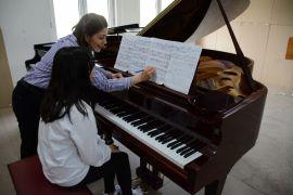"""Konservatuar öğrencileri """"Piyano Masterclass""""ta buluştu"""