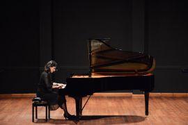 Konservatuvar öğrencisinden piyano resitali
