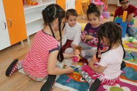 Kreş ve çocuk merkezleri 5 bin 483 çocuğa hizmet verdi