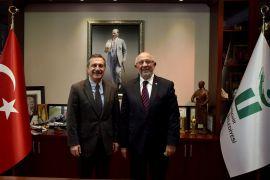 Sarıoğlu'ndan Başkan Ataç'a ziyaret