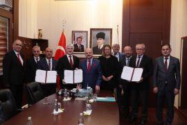 """""""Yetkin İşgücünün Keşfedilerek İstihdamın Arttırılması Projesi"""" protokolü törenle imzalandı"""