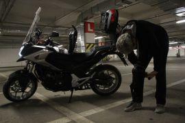 (özel) Hedef motosiklet kullanıcıların güvenliği