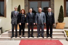 Ahmet Ataç'tan Erdal Şanlı'ya ziyaret