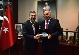 Akif Kemal Akay'dan Ahmet Ataç'a ziyaret