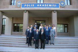 Anadolu Üniversitesi'nden Polis Akademisine ziyaret