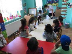 Anaokulu öğrencilerine mesleki eğitim