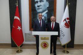 Bakan Yardımcısı Safran, Vali Çakacak'ı ziyaret etti