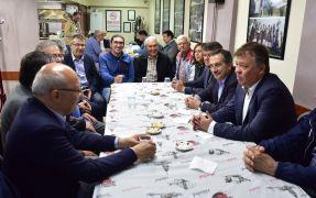 Başkan Ataç Işıkspor iftarına katıldı