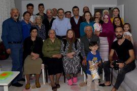 Başkan Ataç ev ziyaretlerine devam ediyor