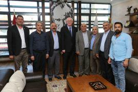 Başkan Kurt'a tebrik ziyaretleri devam ediyor