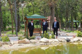 Başkan Yüzügüllü belediye çalışmalarını yerinde inceledi