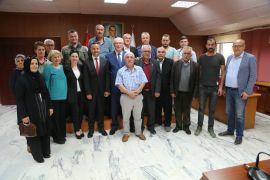 CHP Beylikova ilçe örgütünden Başkan Kurt'a tebrik ziyareti