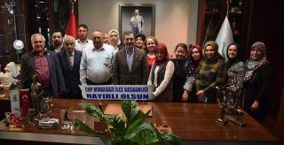 CHP ilçe teşkilatlarından Ataç'a ziyaret