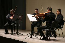 Çağdaş Sanatlar Galerisinde 'Oda Müziği' ziyafeti sürüyor