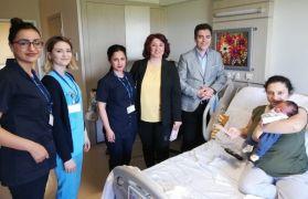 ESOGÜ Hastanesi'nde Anneler Günü ve Hemşireler Günü unutulmadı