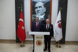 Emniyet Genel Müdürü Uzunkaya, Vali Çakacak'ı ziyaret etti