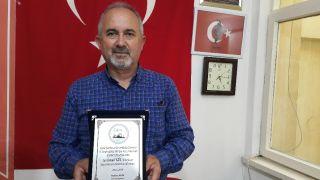 Eskişehirli şair Türkiye birincisi oldu