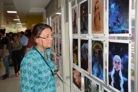Güzel Sanatlar Fakültesi öğrencilerinden 'ruhu besleyen' eserler