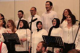 Hastane personellerinden 'Sağlıkta şiddete hayır' konseri