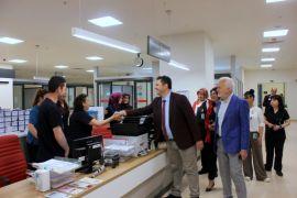 İl Sağlık Müdürü Bilge hastane acil servislerini denetledi