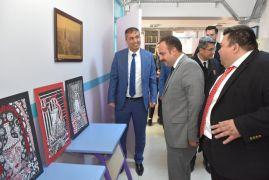 İnönü'de resim ve ebru sergisi