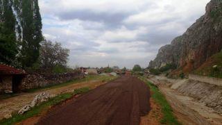 İnönü Belediyesi, Ali Kaya yolunda çalışma yaptı